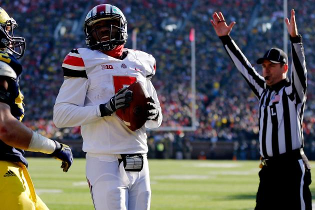 Ohio State Football: Evaluating Braxton Miller's Over/Under Stat Projections