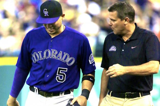 Carlos Gonzalez to Undergo Season-Ending Surgery on Left Patellar Tendon