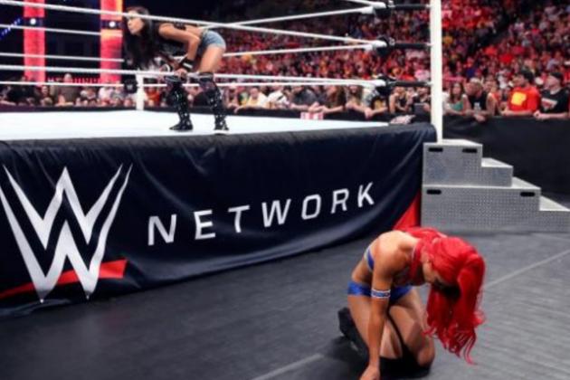 Video: Curious Case of AJ vs. Eva on Raw