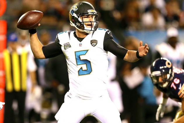 Blake Bortles Proves He's Ready to Be Week 1 Starter for Young Jaguars Offense