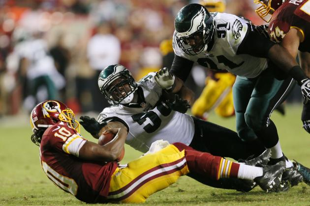 Eagles' Defensive Chess Pieces Still a Work in Progress in Shift to 3-4