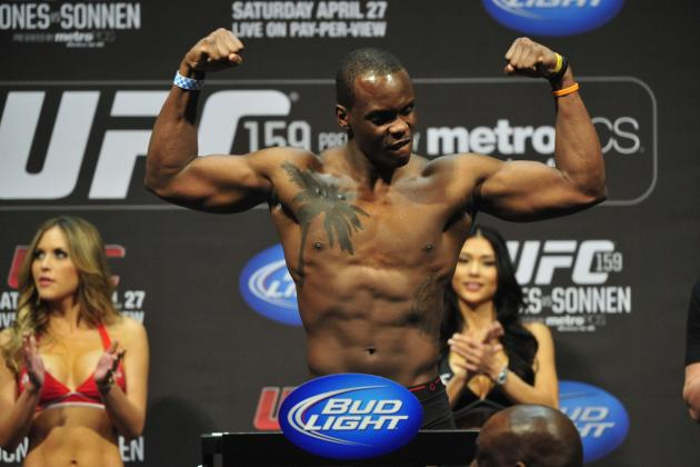 UFC Fight Night 47 Weigh-In Results and Updates