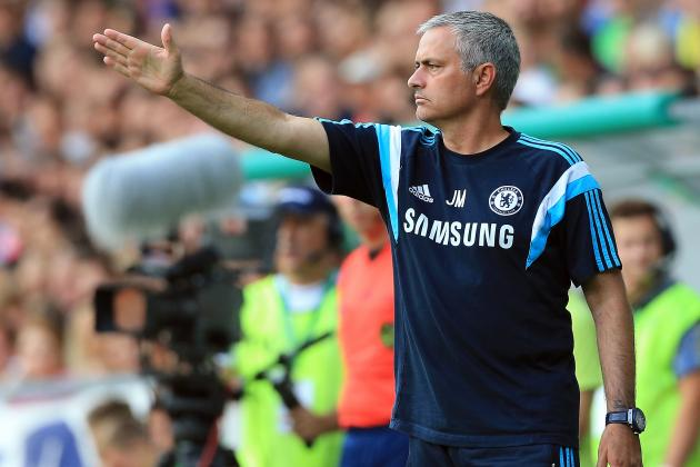 Burnley vs. Chelsea: How Jose Mourinho's Blues Will Line Up