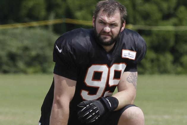 Margus Hunt's Handle on Game Gives Handle on Field