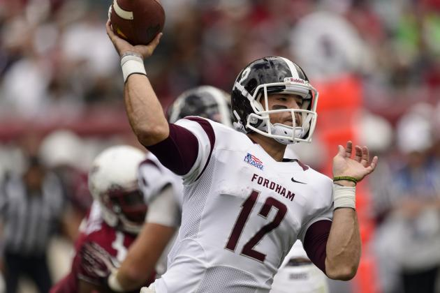 Fordham's Mike Nebrich Has FCS Championship in Mind