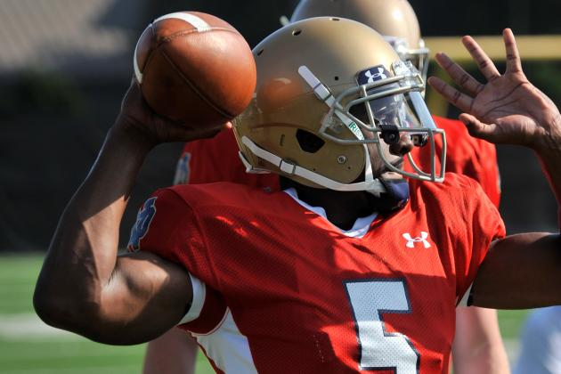 Notre Dame's Everett Golson Faces Scrutiny from NFL Scouts