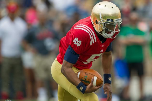 Notre Dame: Everett Golson Gains Confidence on the Move
