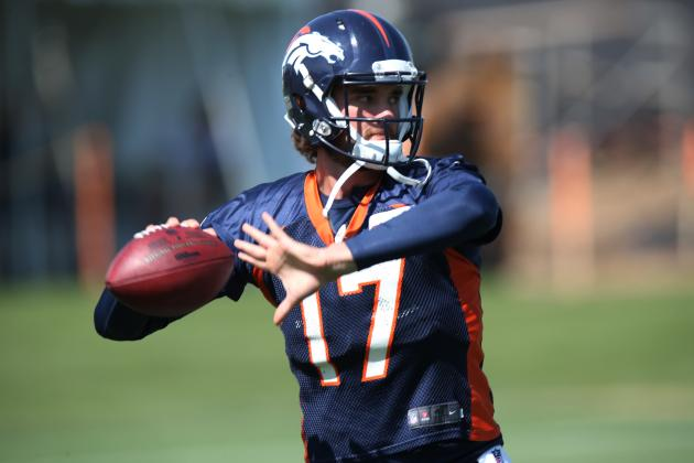 Denver Broncos' Brock Osweiler 'Without Question' Ready If Needed