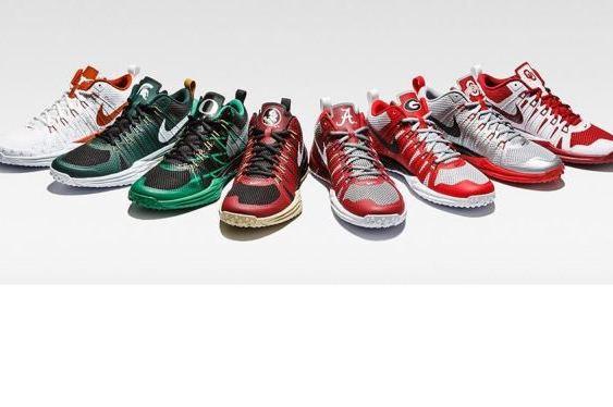 c750d90708c605 Nike Unveils New Lunar TR1 Shoes Featuring College Football Teams Bleacher  Report ...