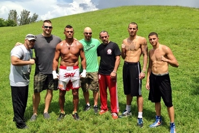 Current Pic of Vitor Belfort in Camp Training for Chris Weidman