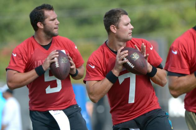 Blake Bortles vs. Chad Henne: Latest Updates on Jacksonville Jaguars' QB Battle