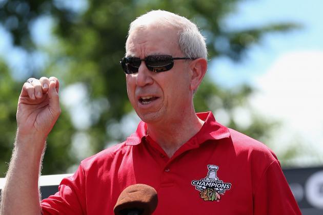 Blackhawks CEO John McDonough Does 'Ice Bucket Challenge'