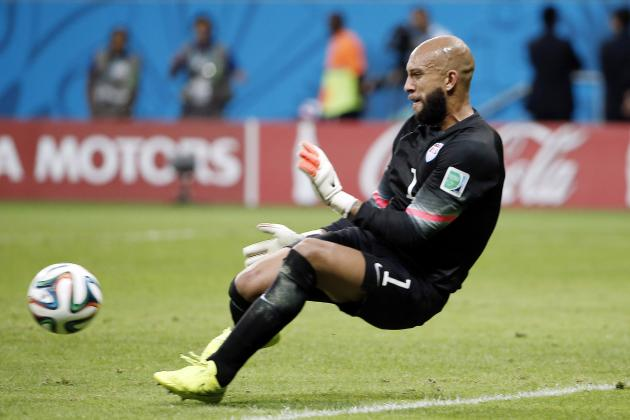 Everton Goalkeeper Tim Howard, U.S. World Cup Star, in a League of His Own