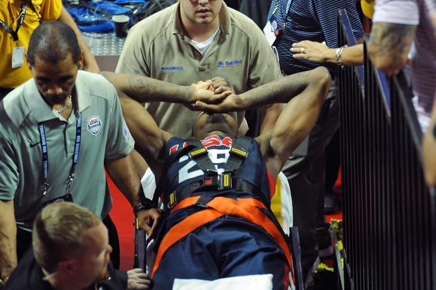 Paul George Calls Team USA Injury 'Freak Accident,' Interested in 2016 Olympics