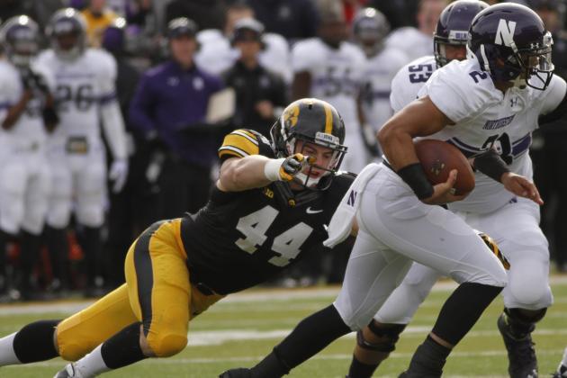 Ranking Iowa's 2014 Football Games: No. 4 Northwestern