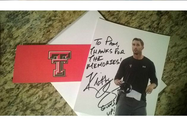 Texas Tech Coach Kliff Kingsbury Responds to Arkansas Fan's 'Breakup' Letter