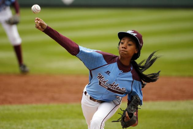 Mo'ne Davis Throws Complete-Game Shutout at Little League World Series