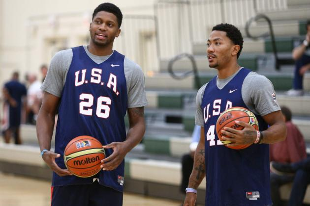 Gay Content to Be Role Player for Team USA