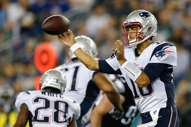 Jimmy Garoppolo's Emergence Means Ryan Mallett's Days with Patriots Are Numbered