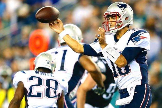 Jimmy Garoppolo's Strong Play Making Case for Patriots No. 2 QB