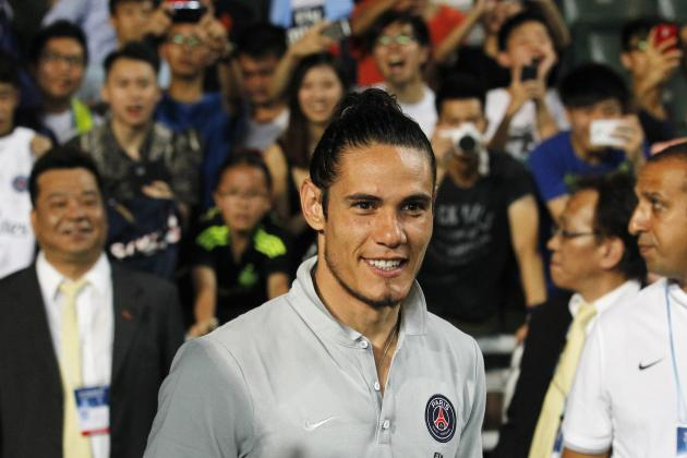 Arsenal Transfer News: Latest on Edinson Cavani and Arsene Wenger's Next Raid