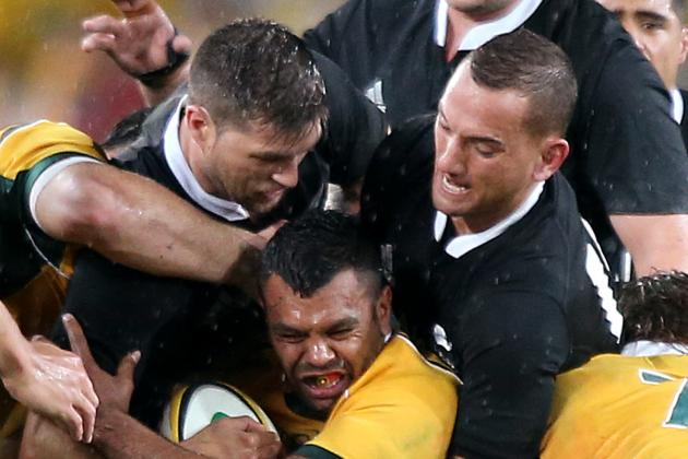 Bledisloe Cup 2014: Score and Recap for Qantas Wallabies vs. All Blacks Game 1