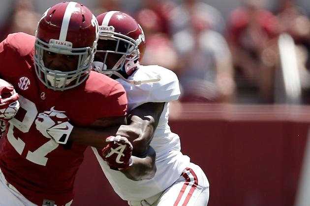 Alabama's Bradley Sylve Proving He Has More Than Speed to Offer Tide