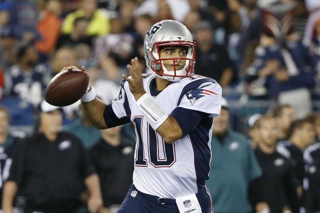 Jimmy Garoppolo's Spot Behind Tom Brady Secure After Rapid Preseason Improvement