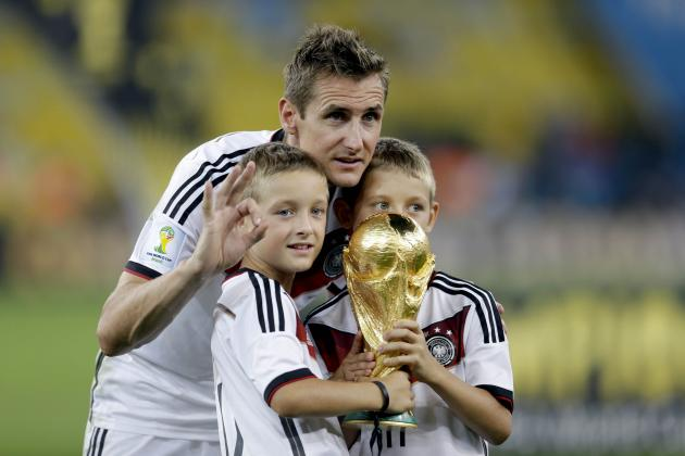 Germany's Miroslav Klose Retires as All-Time Leading Scorer in World Cup
