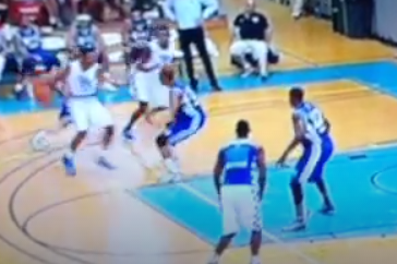 Video: Andrew Harrison Behind the Back Pass Sets Up a Johnson Dunk