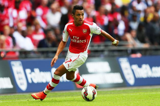 Twitter Reacts to Alexis  Sanchez's Performance in Debut vs. Crystal Palace
