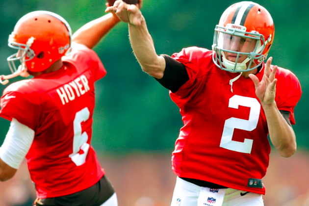 Johnny Manziel Would Benefit from Sitting Behind Brian Hoyer to Start Season