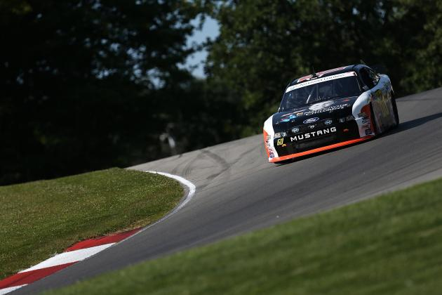 NASCAR Nationwide Series at Mid-Ohio 2014: Live Leaderboard Updates