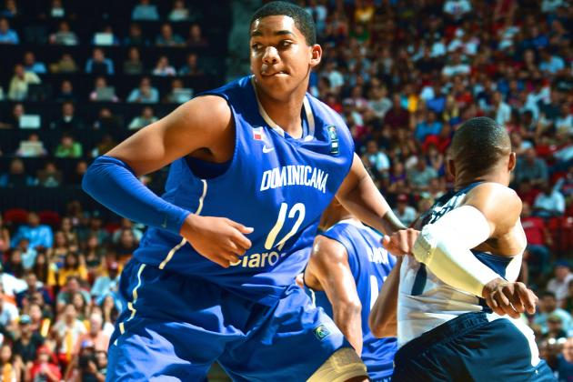NBA Draft Expert's Notebook: Can Karl Towns Jr. Blossom into No. 1 2015 Pick?