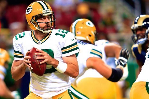 Aaron Rodgers and the Green Bay Packers Offense Look as Crisp, Dominant as Ever