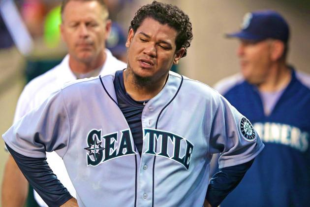 Felix Hernandez's Historic Pitching Stretch Ends After 5-Inning Start vs. Tigers