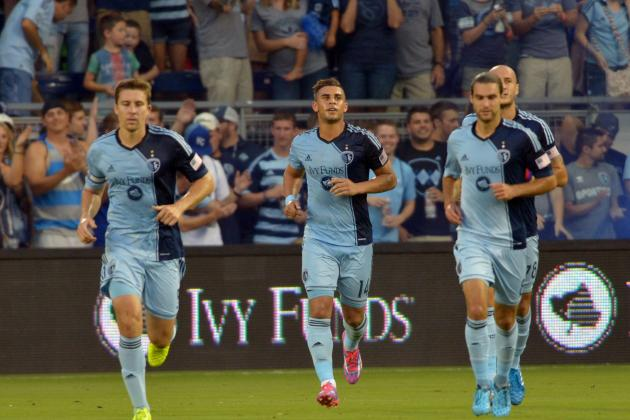 Sporting KC Goes on Offensive for 4-1 Win over Toronto FC