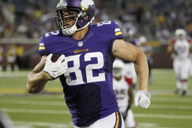 Kyle Rudolph's Instant Fantasy Reaction After Preseason Game vs. Cardinals