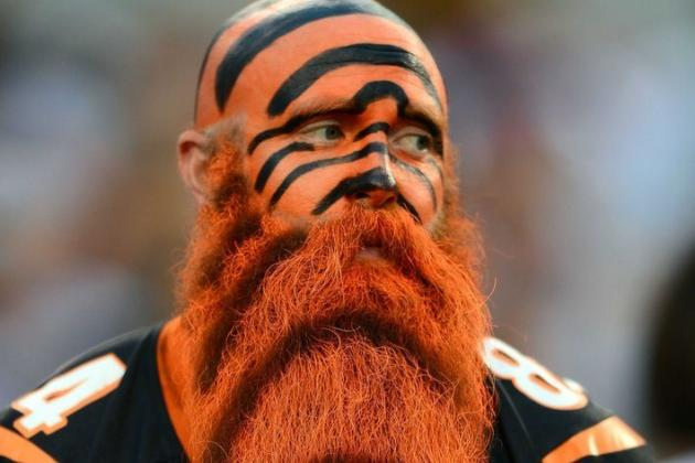 Look at This Cincinnati Bengals Fan's Ludicrous Beard