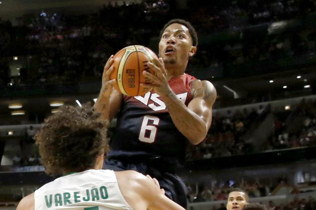 Derrick Rose's Play vs. Brazil Further Proves Bulls Star Is Ready for NBA Return