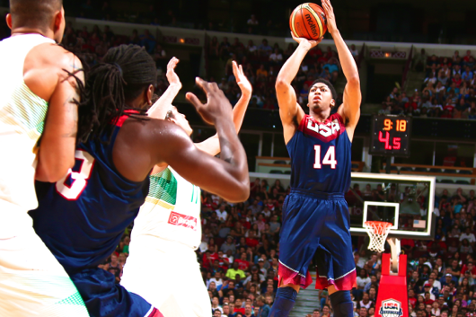 Anthony Davis Fills Alpha Dog Void in Team USA's First FIBA Tune-Up vs. Brazil
