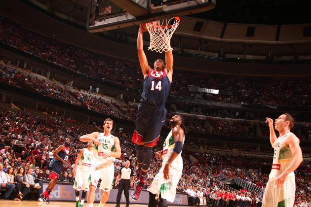 Anthony Davis' Showing Against Brazil Is Preview of What's to Come in 2014-15