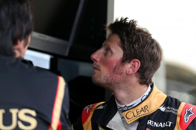 Grosjean Aiming to Show Lotus Potential