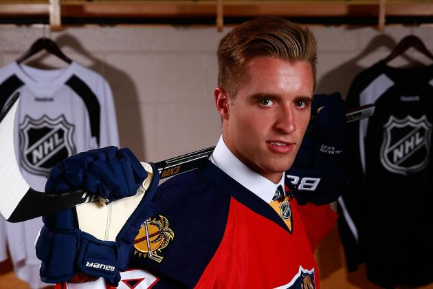Florida Panthers' Top 10 Prospects Led by No. 1 Pick Aaron Ekblad
