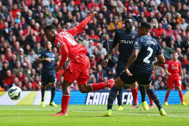 Twitter Reacts to Daniel Sturridge's Performance from Liverpool vs. Southampton