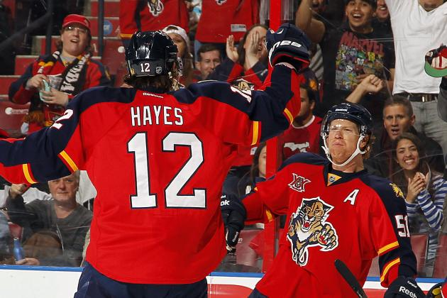 Panthers' Power Play Can Only Improve Next Season