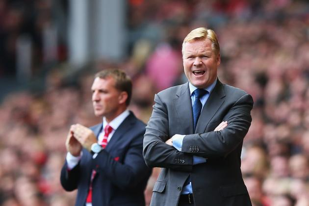 Liverpool vs. Southampton: Post-Game Reaction of Brendan Rodgers, Ronald Koeman