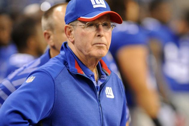 Coughlin Frustrated with Giants' Poor Offensive Form