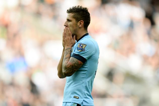 Why Stevan Jovetic Is Under Most Pressure for Man City After Win at Newcastle