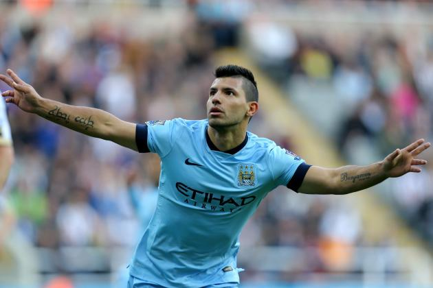 Twitter Reacts to Sergio Aguero's Performance from Newcastle vs. Manchester City